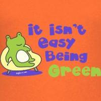 Being Green (Frog)