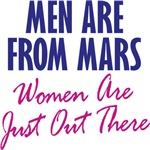 Men Are From Mars, Women Are Just Out There
