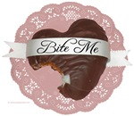 Bite Me Chocolate Heart