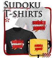 Sudoku T-shirts, Japanese Tees