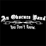 An Obscure Band (Black)