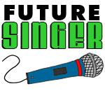 Future Singer Blue Microphone