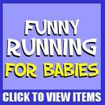 Funny Running Baby Shirts