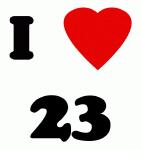I Love  23