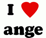 I Love ange