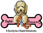 English Goldendoodle Logo