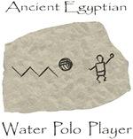 polo hieroglyph (water polo t-shirt)