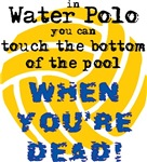 Bottom of the Pool (water polo t-shirt)