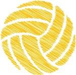 scribble ball (water polo t-shirt)
