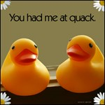 You Had Me At Quack Rubber Duck Love