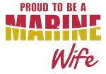 Proud Marine Wife