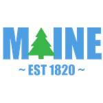 MAINE  EST 1820 PINE TREE