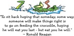 Reagan Crocodile