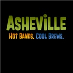 Asheville. Hot Bands. Cool Brews.