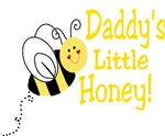 Daddy's little Honey with a bee