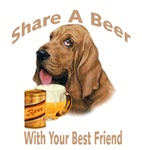   Bloodhound Shares A Beer