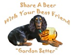 Gordon Setter Share A Beer With Your Best Friend