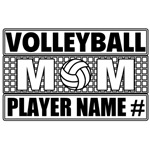 Volleyball Mom Personalized