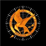 Tick Tock Mockingjay Clock
