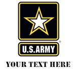 U.S. Army Gold and Black