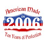 American Made in 2006 10th Birthday Patriotic