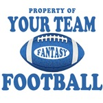 Prop of Your Team Fantasy Blue