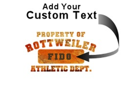 Personalized Property of Rottweiler