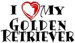 I Heart My Golden Retriever
