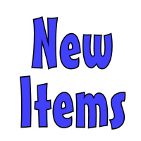 New Items Are Always Being Added