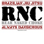 RNC - Rear Naked Choke t-shirts