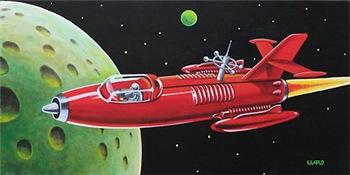 X-30 SPACE ROCKET