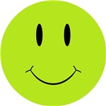 Happy Green Face