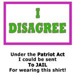 I Disagree!