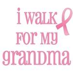 I walk for my grandma