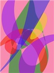 Pink and Purple Vivid Colors