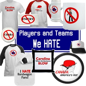 The Players and Teams We HATE
