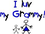 I luv my Grammy (blue)