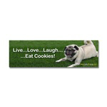 Pug Bumper Stickers