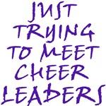 Meeting Cheerleaders