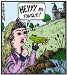 No Tongue