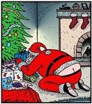 Santa's Butt crack