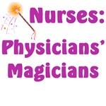 Nurses Physicians' Magicians