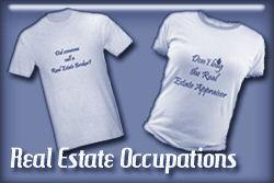 Real Estate Occupations T-shirts and Gifts
