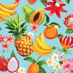 Tropical Fruit & Flowers