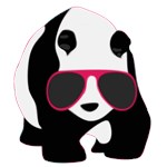 Cool Panda With Sunglasses