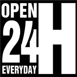 Open 24 Hour Everyday