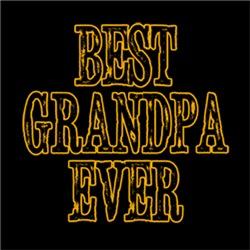BEST GRANDPA EVER Grandparent's Day