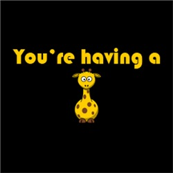 Having A Giraffe