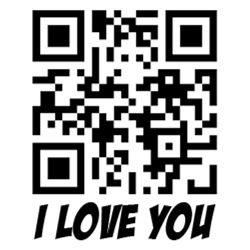 I Love You QR Code