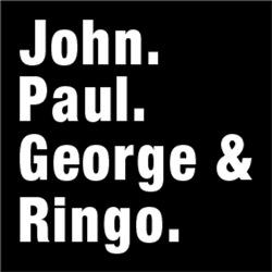 John Paul George & Ringo British Rock Butcher